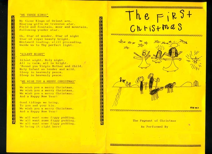A Children's Christmas Pageant Script : The First Christmas by ...